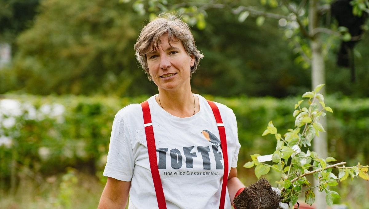 Heckenretter-Gründerin Alexandra Werdes