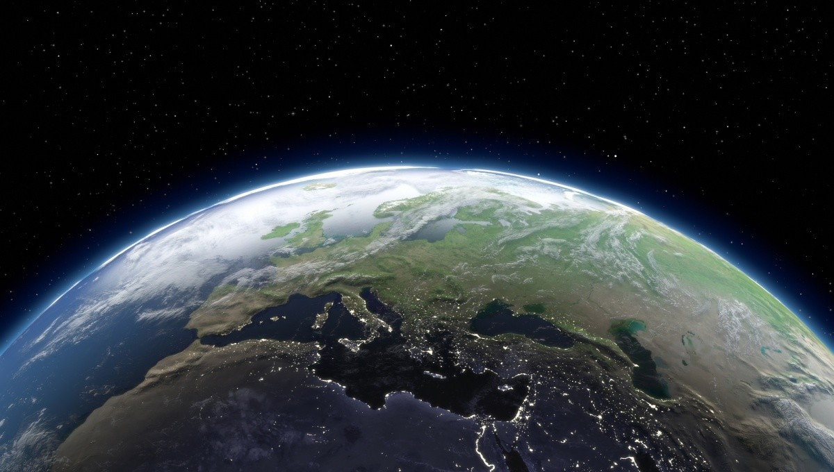 Erde vom Weltall aus