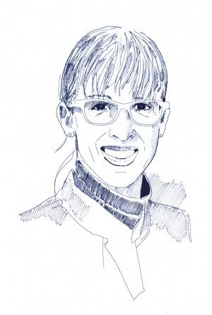 Portrait von Astronautin Insa Thiele-Eich