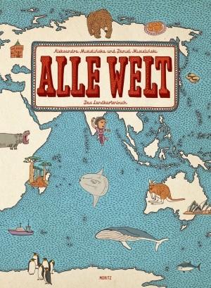 Cover Alle Welt Landkartenbuch