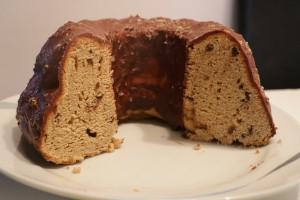 Angeschnittener Kuchen