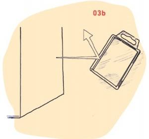 Illustration von Lichtbrechung