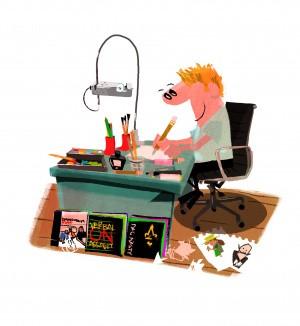 Illustrator Tim Möller-Kaya