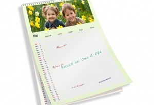 Foto-Familienkalender von Fotokasten