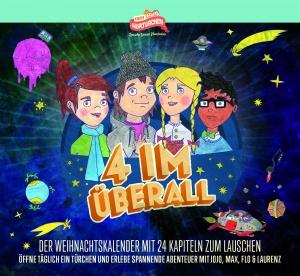 """Adventskalender-Cover Hörtürchen """"4 im Überall"""""""
