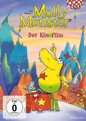 "DVD-Cover ""Molly Monster - der Kinofilm"""