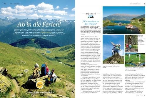 Warum!-Magazinseite: Urlaubsspecial