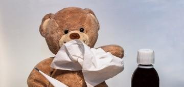Teddy ist erkältet