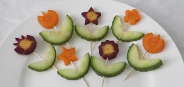 Gemüse-Blume