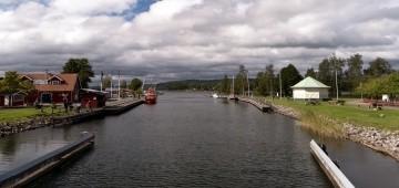 Göta-Kanal in Schweden