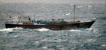 Verdächtiges Piratenschiff vor Somalia