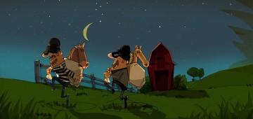 Redewendung: Pferde stehlen