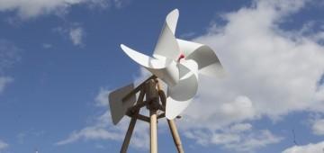 Windrad-Modell von Volker Möller