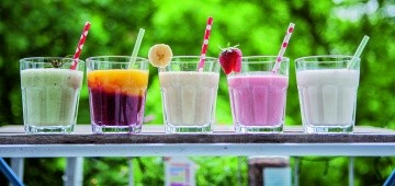 Leckere Sommer-Smoothies