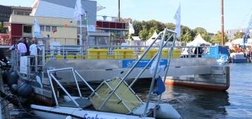 Müllräumschiffe Seekuh und Seehamster